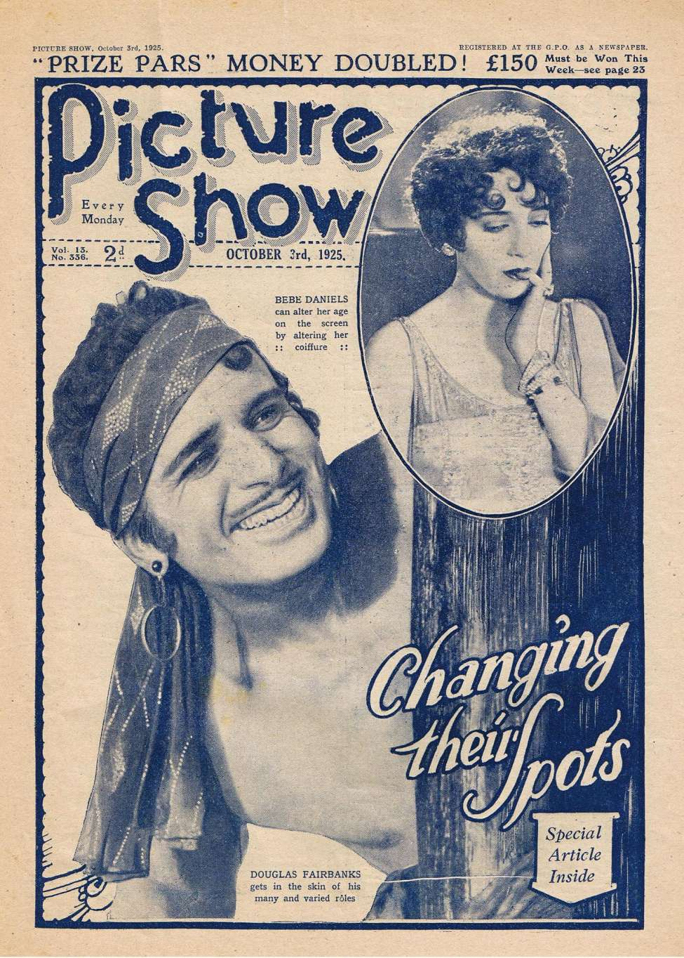Comic Book Cover For Picture Show 336