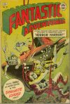 Cover For Fantastic Adventures 10