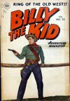 Cover For Billy the Kid Adventure Magazine 22