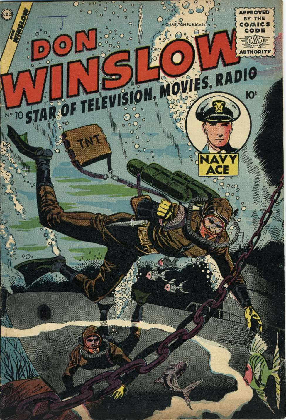Comic Book Cover For Don Winslow of the Navy #70