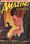 Cover For Amazing Stories v24 6 Goddess of the Volcano Craig Browning