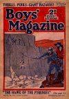 Cover For Boys' Magazine 139