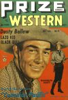 Cover For Prize Comics Western 76
