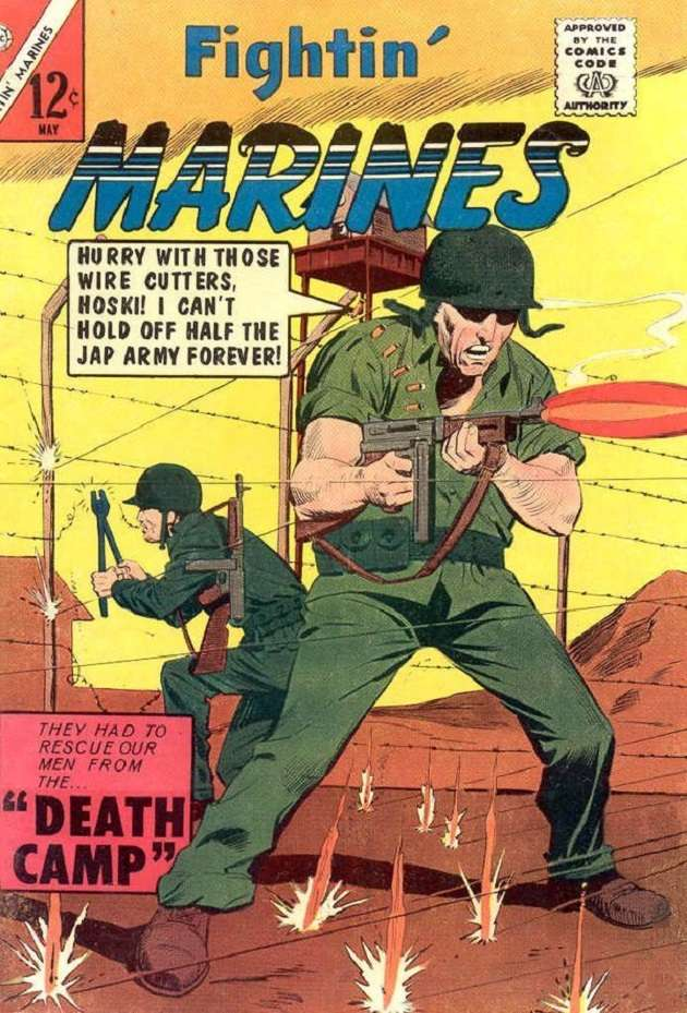 Comic Book Cover For Fightin' Marines #58