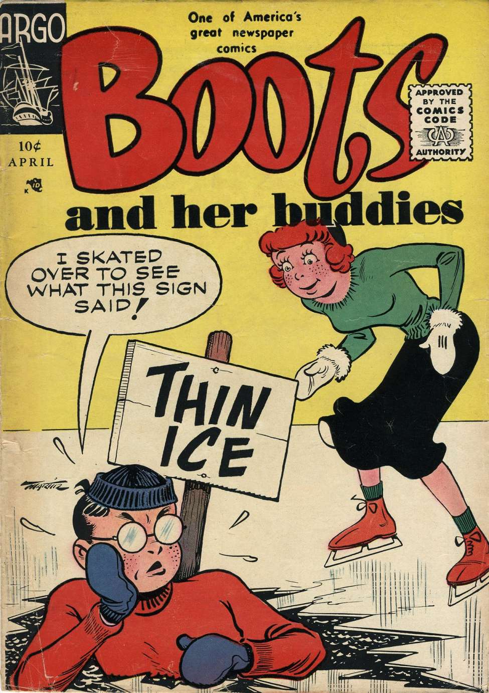 Comic Book Cover For Boots and Her Buddies #3