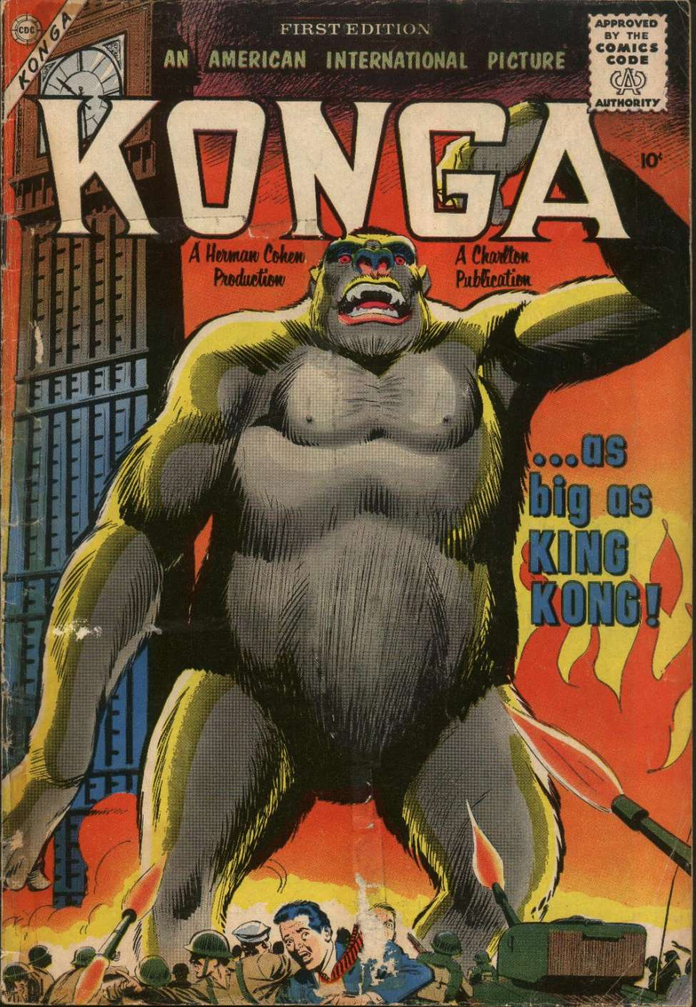 Comic Book Cover For Konga #1