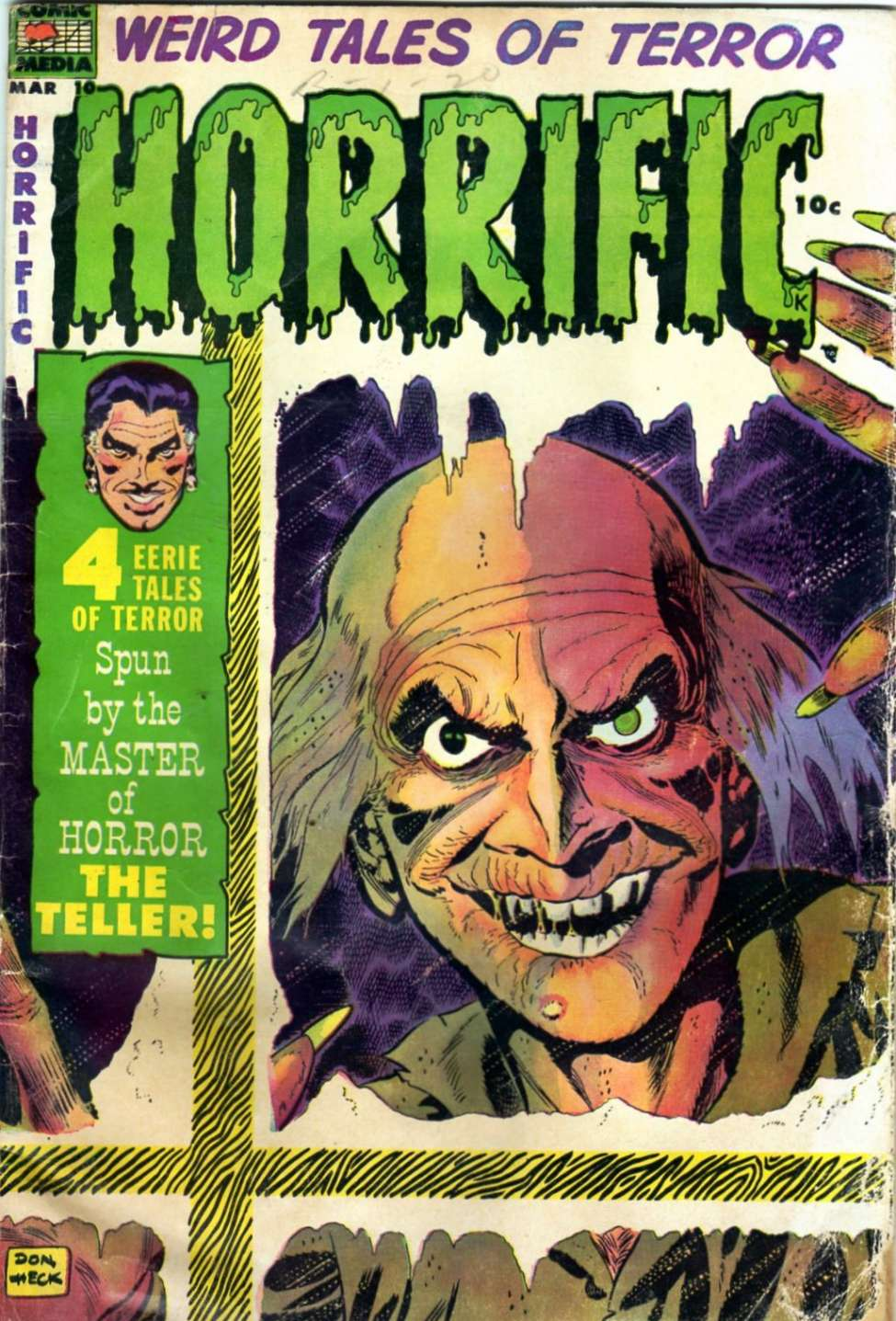 Comic Book Cover For Horrific #10