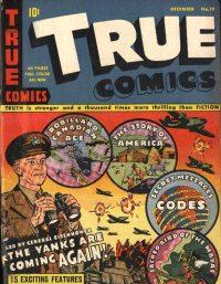 Large Thumbnail For True Comics #19