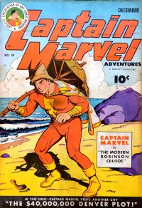 Large Thumbnail For Captain Marvel Adventures #30