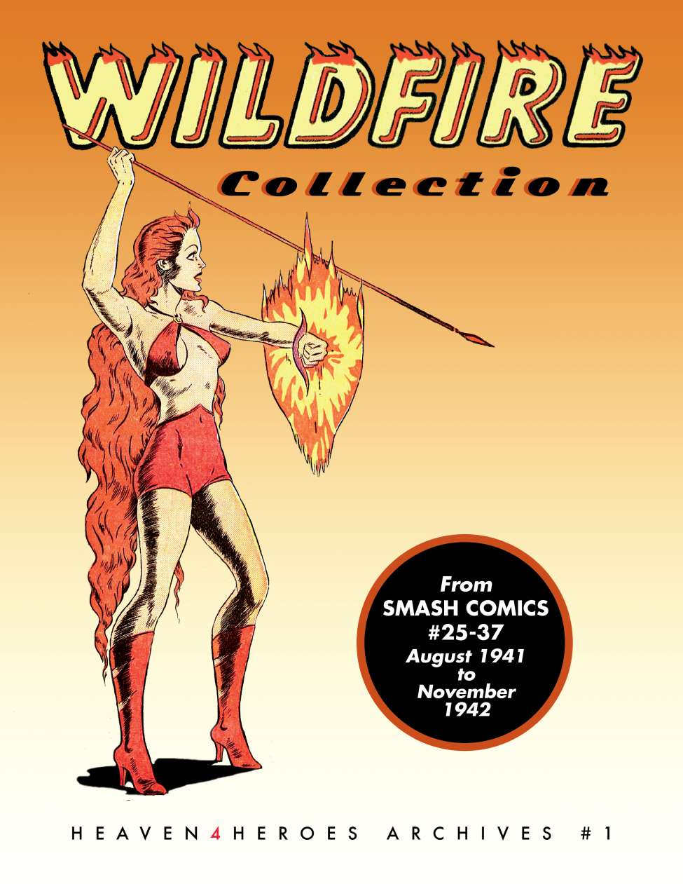 Comic Book Cover For Heaven4Heroes Archive 01 - Wildfire (Quality)