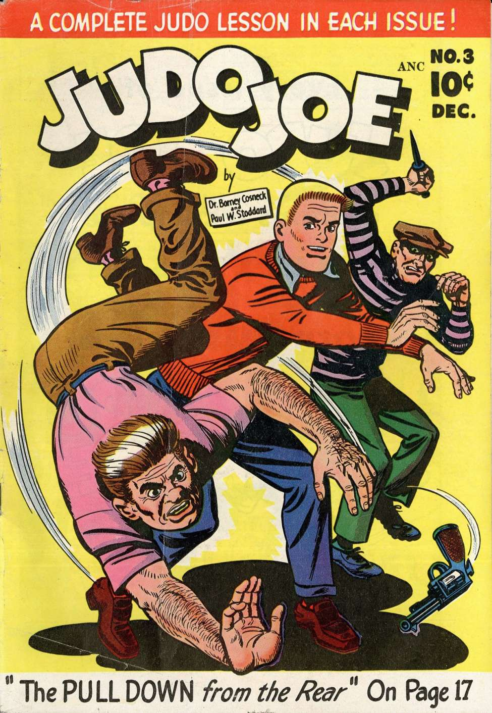 Comic Book Cover For Judo Joe #3
