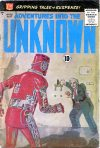Cover For Adventures into the Unknown 110