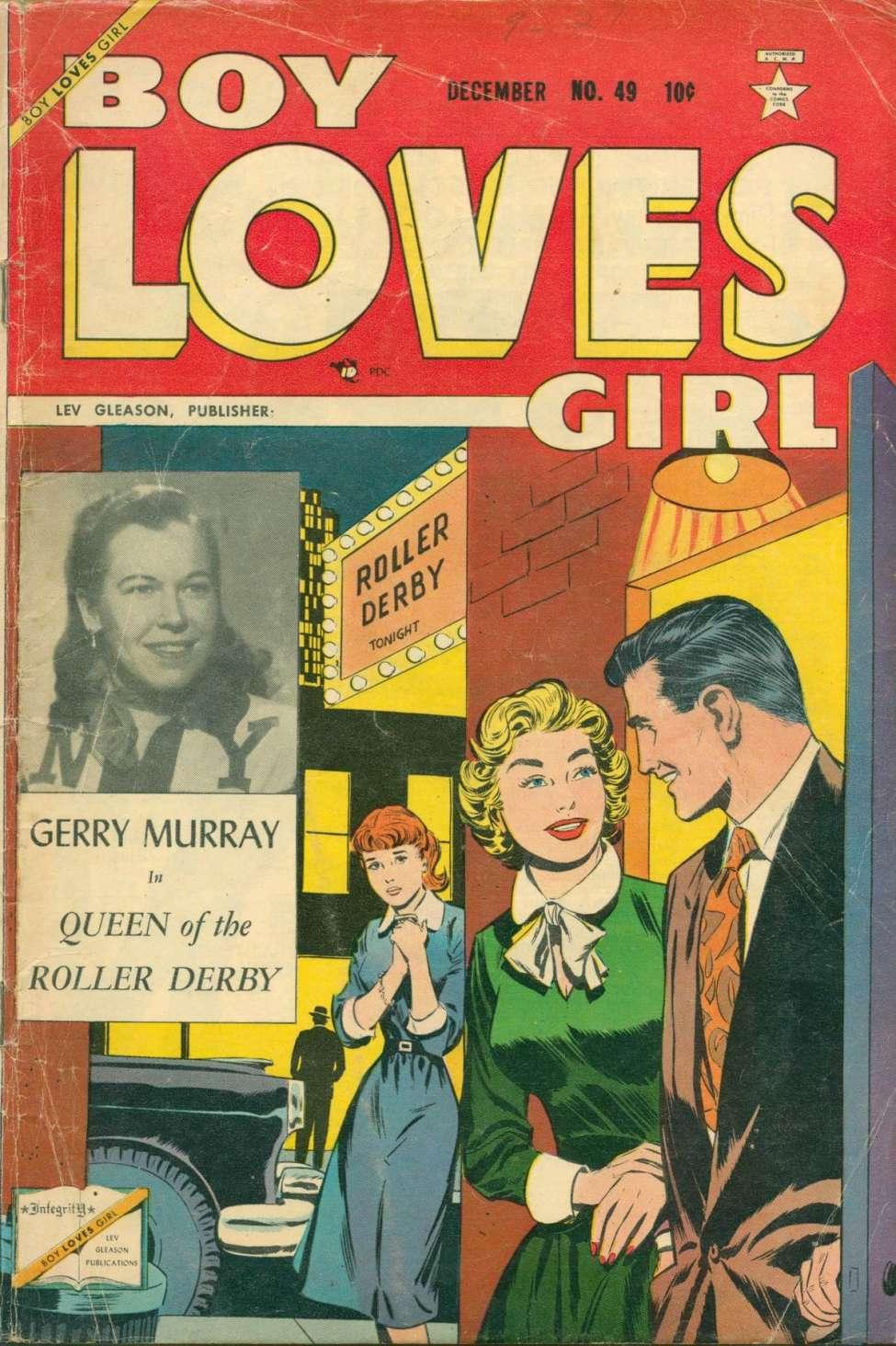 Comic Book Cover For Boy Loves Girl #49
