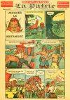Cover For La Patrie Section Comique (1944 10 1)