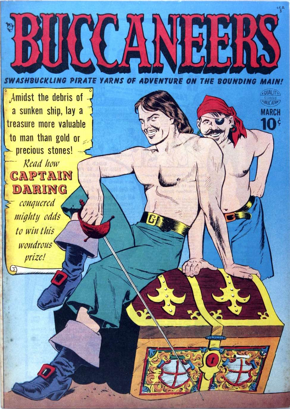 Comic Book Cover For Buccaneers #20