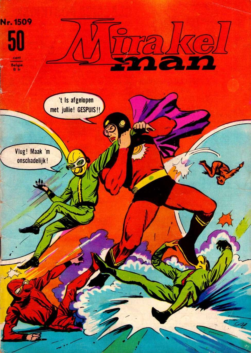 Comic Book Cover For Mirakelman #1509