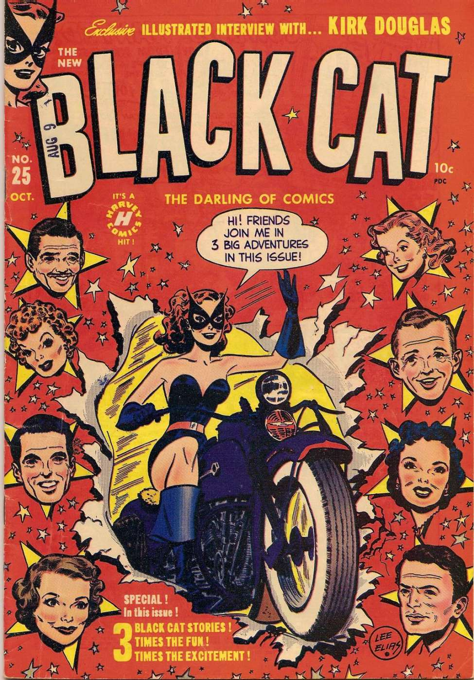 Comic Book Cover For Black Cat #25