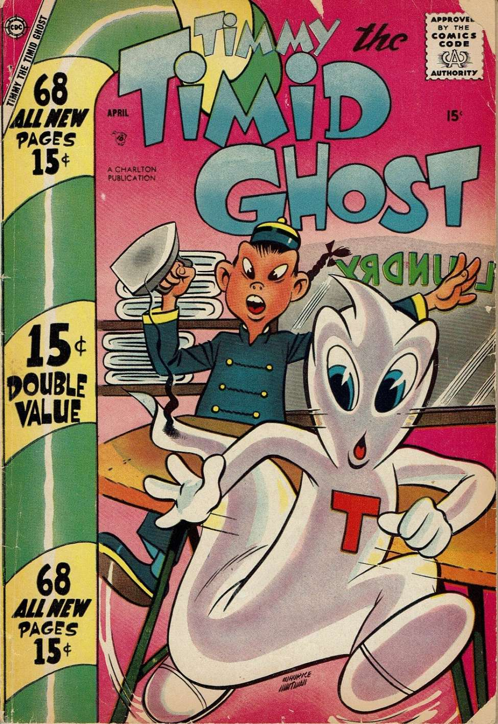 Comic Book Cover For Timmy the Timid Ghost #11