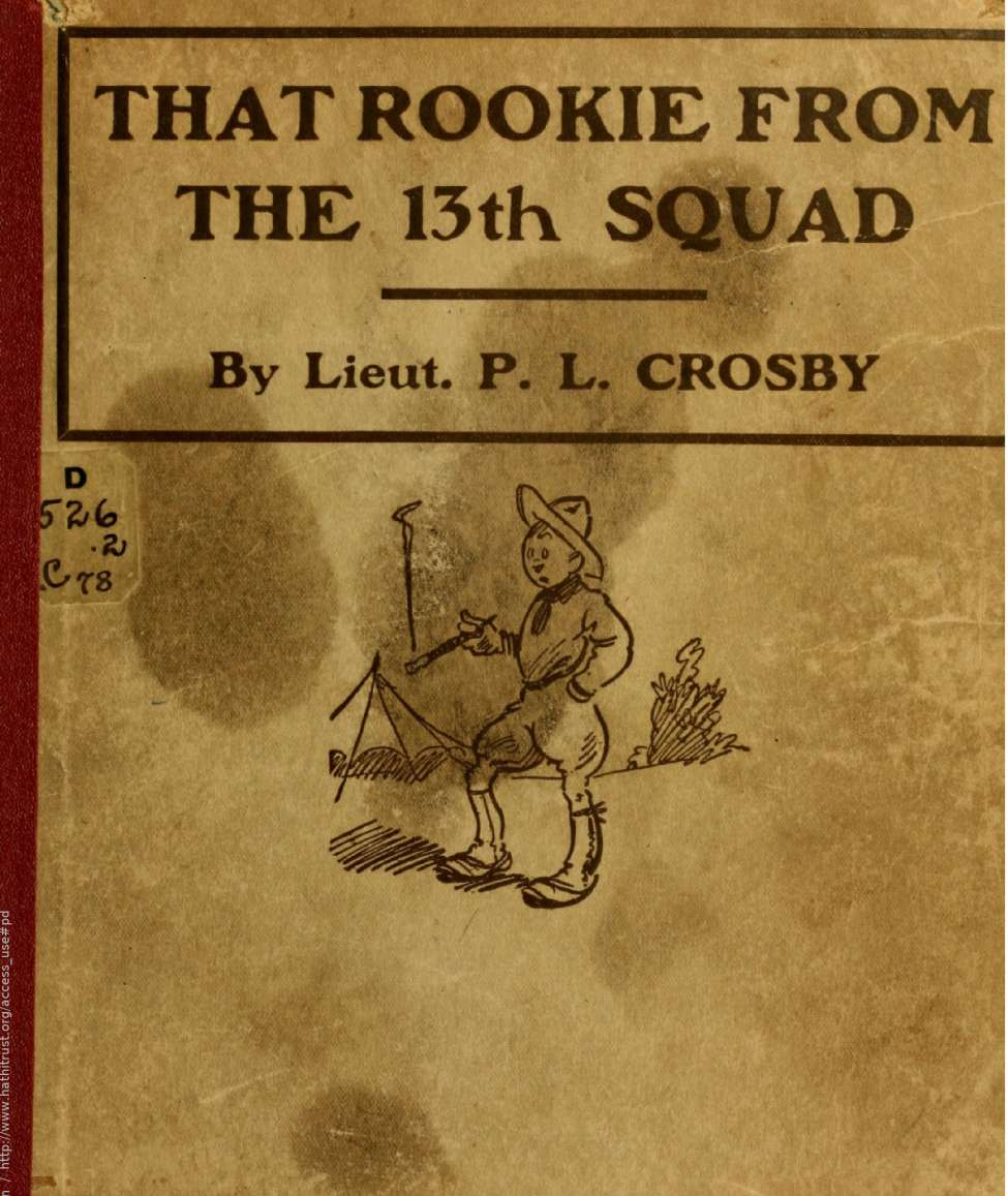 Comic Book Cover For Rookie From The 13th Squad