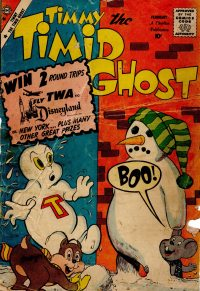 Large Thumbnail For Timmy the Timid Ghost #19