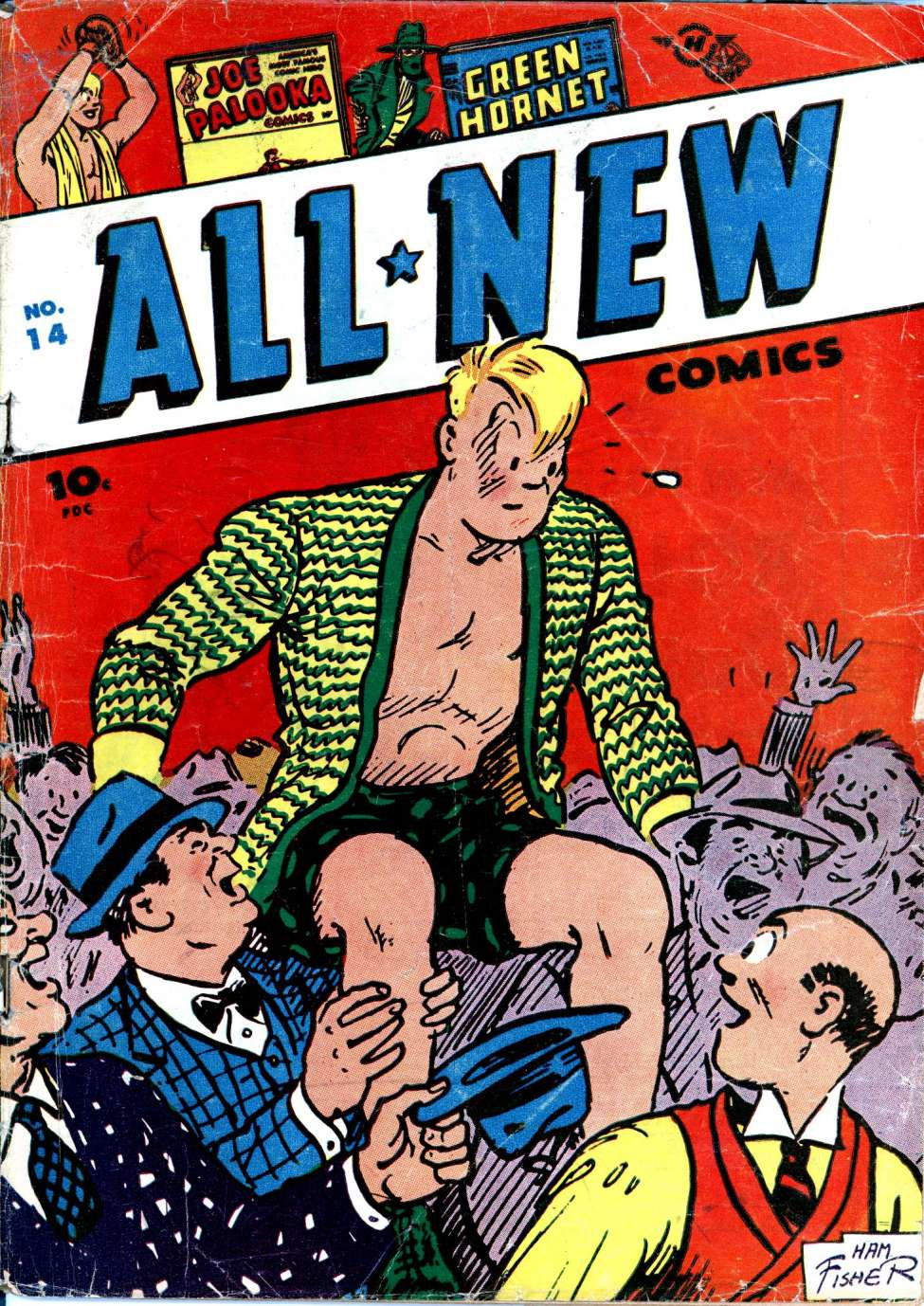 Comic Book Cover For All-New Comics #14