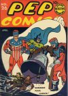 Cover For Pep Comics 26