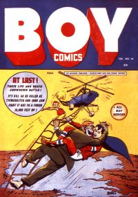 Large Thumbnail For Boy Comics #14