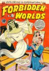 Cover For Forbidden Worlds 28