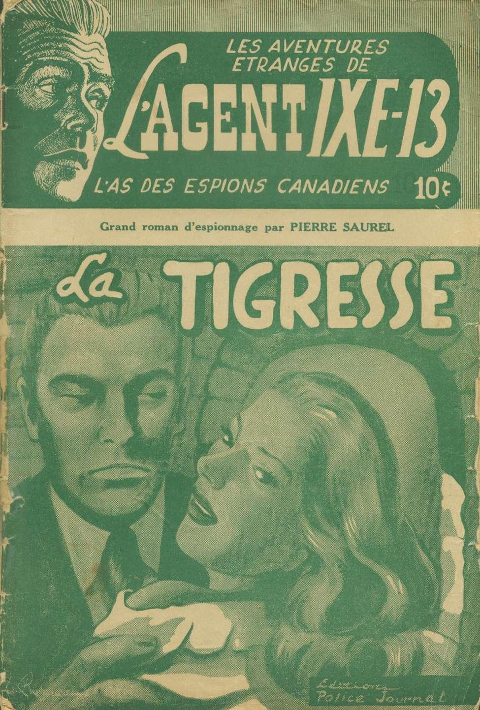 Comic Book Cover For L'Agent IXE-13 v1 002 - La tigresse