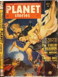 Large Thumbnail For Planet Stories v05 01 - The Virgin of Valkarion - Poul Anderson