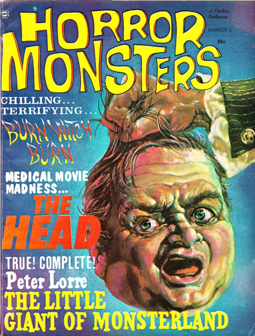Comic Book Cover For Horror Monsters v01 05