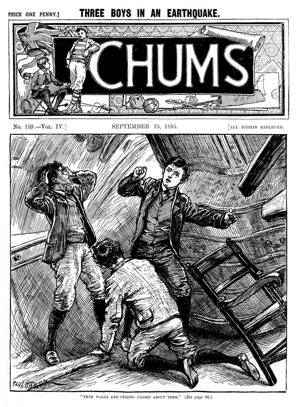 Comic Book Cover For Chums v004 0159
