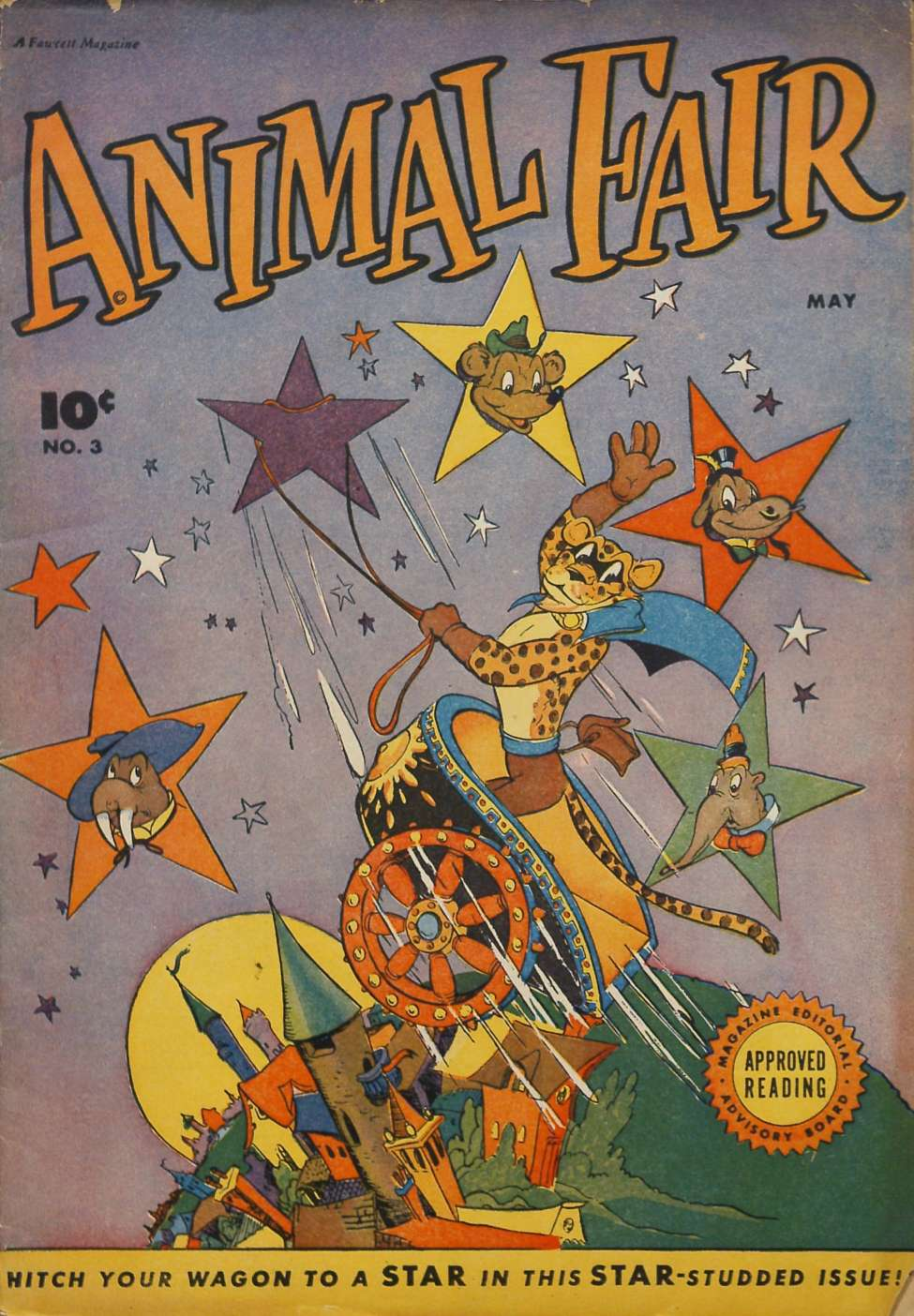 Comic Book Cover For Animal Fair #3