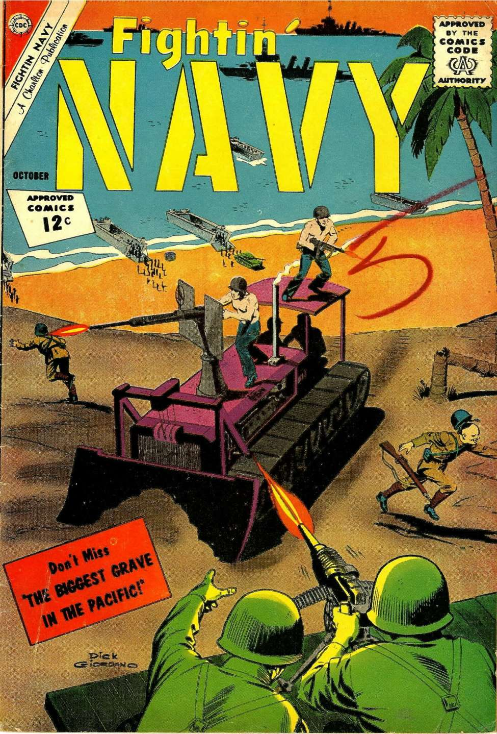 Comic Book Cover For Fightin' Navy #106
