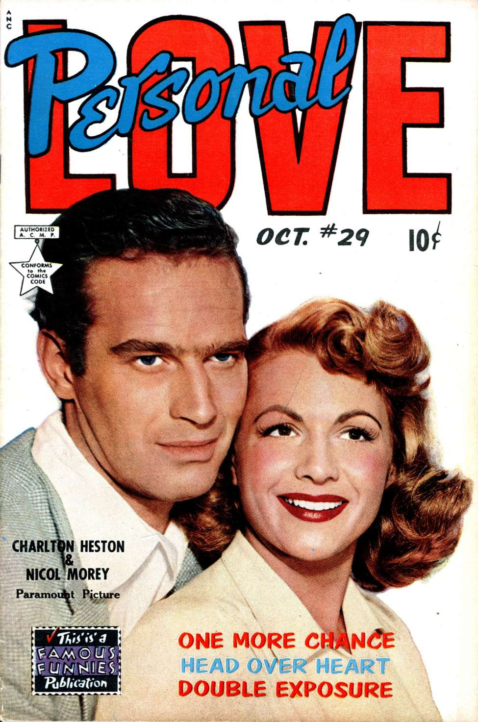 Comic Book Cover For Personal Love #29