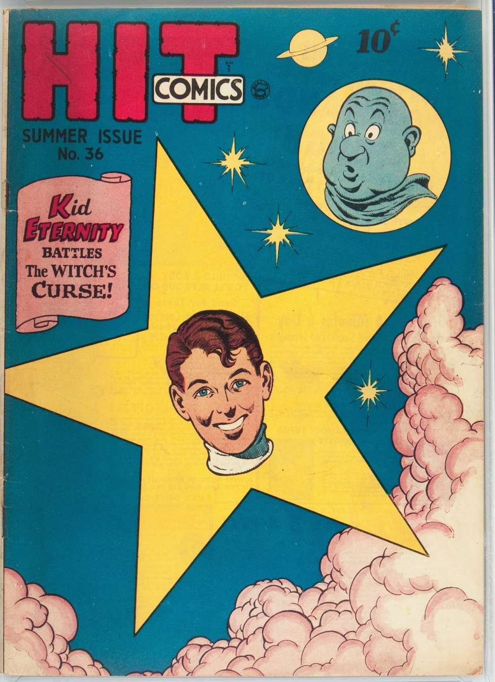 Comic Book Cover For Hit Comics #36