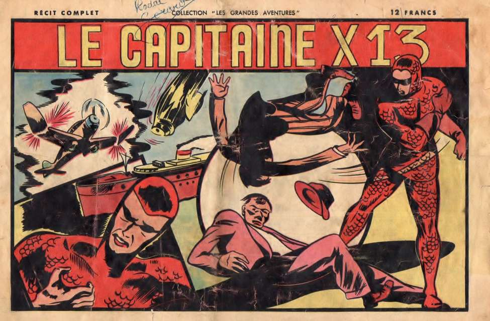 Comic Book Cover For Le Capitaine X13