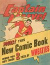 Cover For Captain Marvel Adventures Wheaties Giveaway