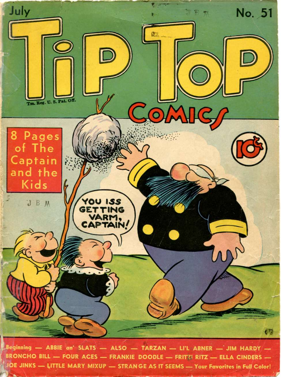 Comic Book Cover For Tip Top Comics 051