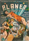 Cover For Planet Comics 18