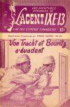Cover For L'Agent IXE 13 v2 131 Von Tracht et Bouritz s'évadent