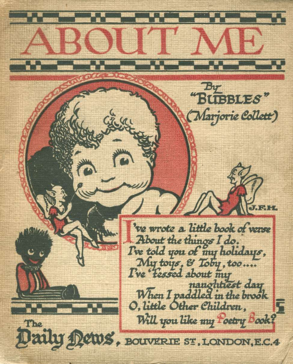 Comic Book Cover For About Me By Bubbles