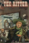Cover For Tex Ritter Western 27