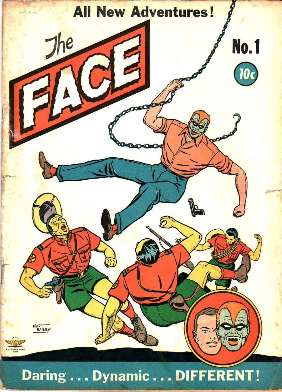 Comic Book Cover For The Face #1