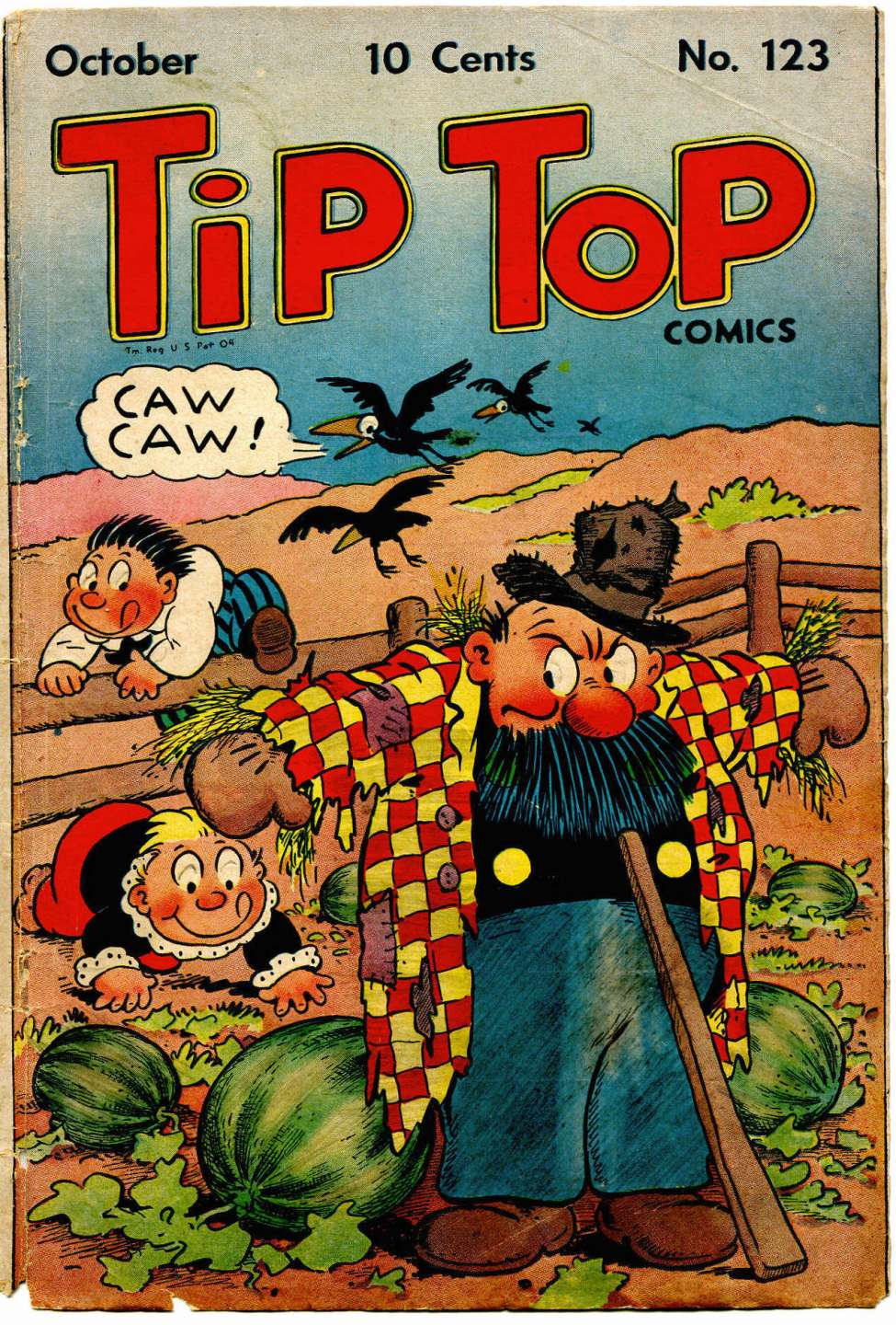 Comic Book Cover For Tip Top Comics 123