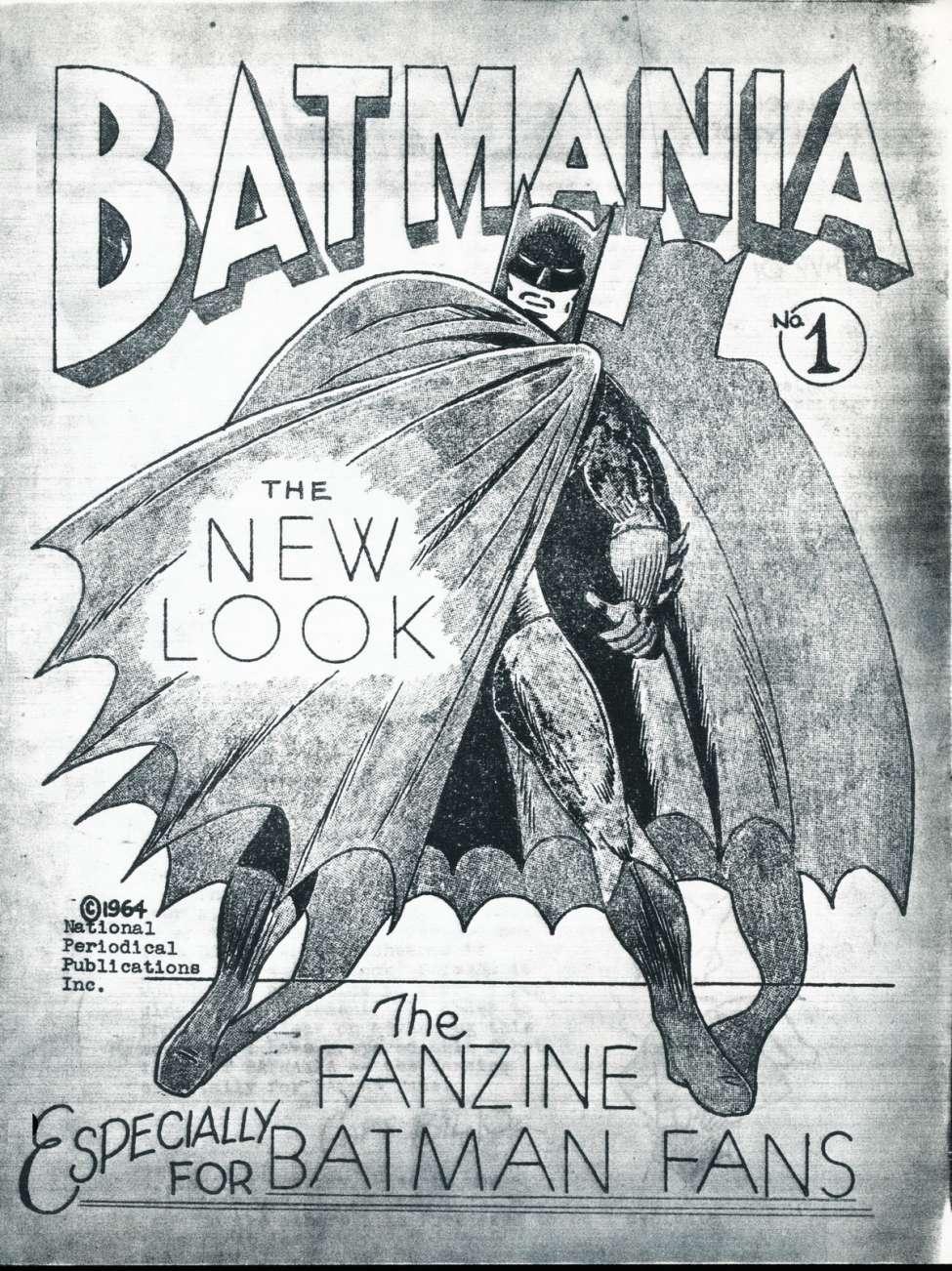 Comic Book Cover For Batmania 01