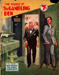 Large Thumbnail For Sexton Blake Library S3 090 - The Riddle of the Gambling Den