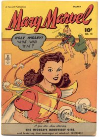Large Thumbnail For Mary Marvel #10
