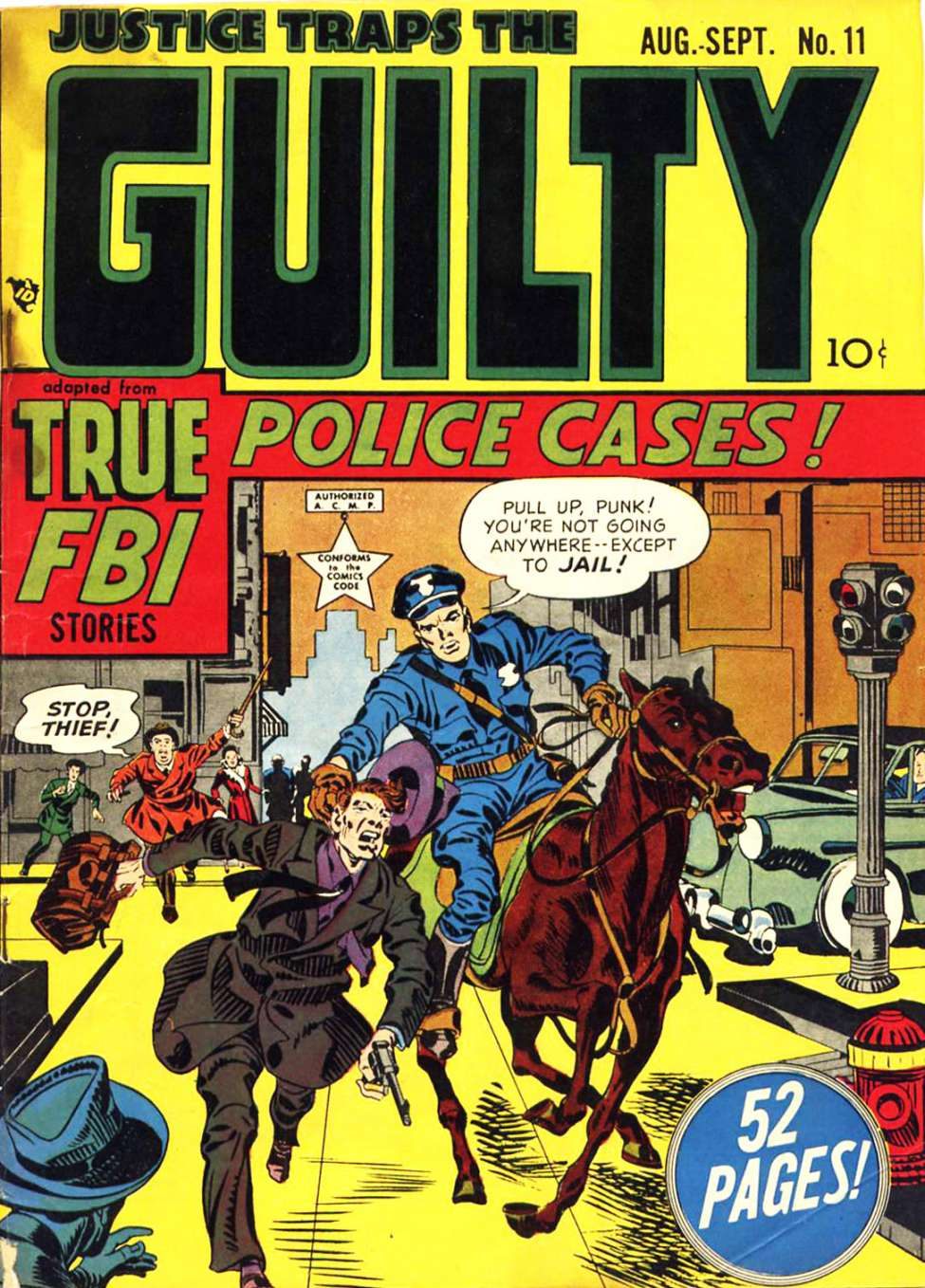 Comic Book Cover For Justice Traps the Guilty v2 5 (11)