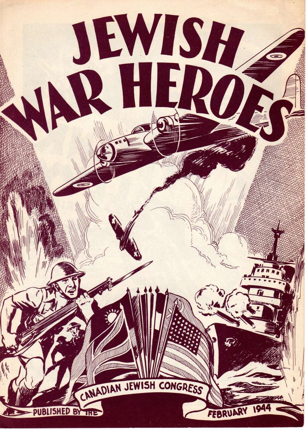 Comic Book Cover For Jewish War Heroes [1]